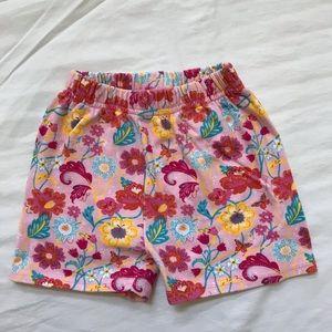 Flower Zutano Shorts